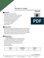IRM-3438 IR receiver