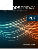 DevOps Friday - 12th April 2013