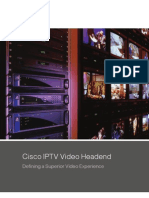 Cisco IPTV Video Headend