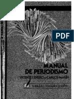 Manual de Periodismo Vicente Lenero