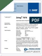 Chemicals Zetag DATA LDP Zetag 7878 - 0410