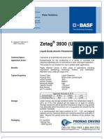 Chemicals Zetag DATA LDP Zetag 3930 - 1110