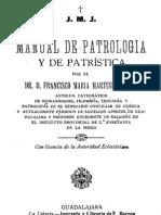 Manual de Patrologia