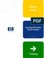 Servicing Hp Proliant Server Products - Student Guide - June 2003