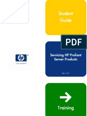 Servicing Hp Proliant Server Products - Student Guide - June
