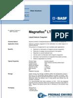 Chemicals Zetag DATA Organic Coagulants Magnafloc LT 7995 SPS - 1110