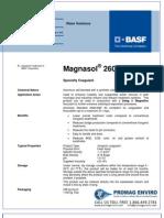Chemicals Zetag DATA Magnasol 2605 G - 0410