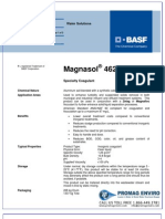 Chemicals Zetag DATA Magnasol 4620 G - 0410