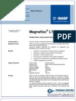 Chemicals Zetag DATA Organic Coagulants Magnafloc LT 7985 - 0410