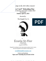 Écurie St Flor Package April 21 Schooling Day