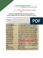 Mateo 28 19 -