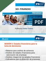 Sesion 5 Finanzas Estados Financieros