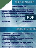 CLASE Admon. de Negocios