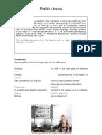 Literacy Articles - Main