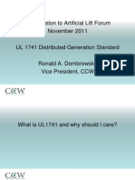 Artificialliftforum Ul1741presentation Final 120215145546 Phpapp02