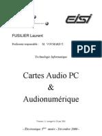 Audio Cards Comparison