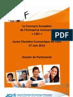 Dossier Partenariat C2EI Paris 2013