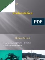 hidrostática-27deMarço