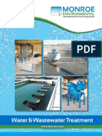 Water and Wastewater Treatment-Monroe Environmental