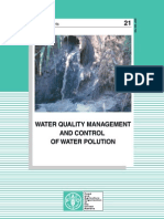 Water quWATER QUALITY MANAGEMENT