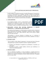 GUÍA PARA LA PRESENTACIÓN DEL DOCUMENTO DE UN PROGRAMA Y PROYECTOS DE VINCULACIÓN