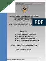 Proyecto Biblioteca s