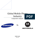 MMOTOROLA AND SAMSUNG A COMAPARISION