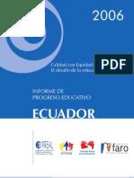 Ecuador - Calidad Con Equidad