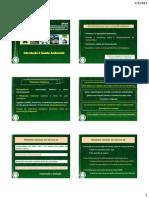 Aulas - Parte III - Ciências do Ambiente 2012-2