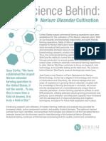 science behind nerium oleander