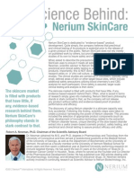 science behind nerium skincare