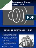 Pemilu 1955-Demokrasi Terpimpin