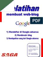 Pelatihan Web Blog