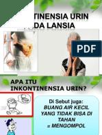 Inkontinensia Urin Pada Lansia.penyuluhan
