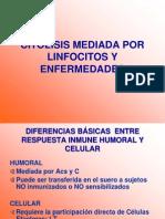 CITOLISIS Y MOLÉCULAS COESTIMULADORAS
