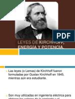 Leyes de Kirchhoff, Energía y Potencia.pptx