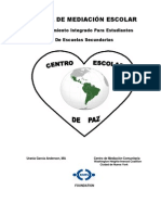 Manual de Mediacion en Espanol Revised on August 3-2012