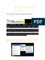 Tutorial Basico Word 2007