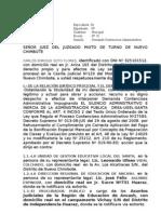 Demanda Contencioso Administrativa Preparacion de Clases Soto Flores