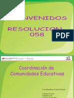 Ponencia de Comunidades Educativas 058