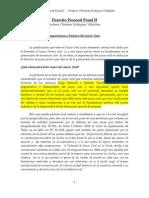 Derecho Procesal PENAL II, Segunda Parte.