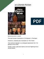 Al Qaeda is Zionist Fiction