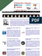Weekend Edition - April 8, to April 12, 2013 - ForeclosureGate Gazette