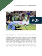 Dorlan Pavón marcó un golazo para Betis en el 3