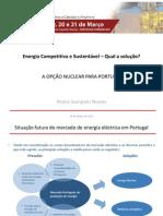 Pedro Sampaio Nunes-A opção nuclear para Portugal