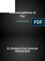 misconceptions of fur