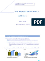 Comparative Analysis of the BRICs