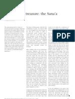 Ursula Dreibholz, Preserving a Treasure - The Sana'a Manuscripts
