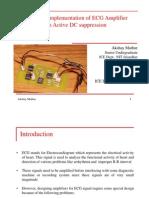 ECG AMPLIFIER