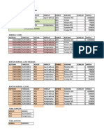 Contoh Normalisasi (Excel)
